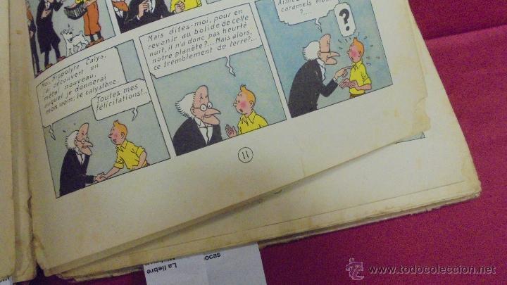 Cómics: LES AVENTURES DE TINTIN. L'ETOILE MYSTÉRIEUSE. ÉDITION CASTERMAN. 1955. EN FRANCÉS. - Foto 10 - 51447351