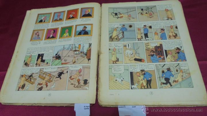 Cómics: LES AVENTURES DE TINTIN. L'ETOILE MYSTÉRIEUSE. ÉDITION CASTERMAN. 1955. EN FRANCÉS. - Foto 11 - 51447351
