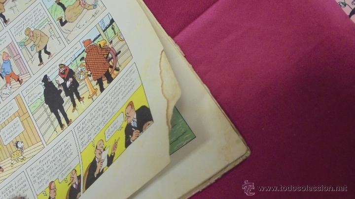 Cómics: LES AVENTURES DE TINTIN. L'ETOILE MYSTÉRIEUSE. ÉDITION CASTERMAN. 1955. EN FRANCÉS. - Foto 13 - 51447351
