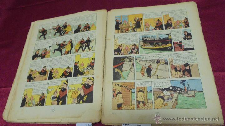 Cómics: LES AVENTURES DE TINTIN. L'ETOILE MYSTÉRIEUSE. ÉDITION CASTERMAN. 1955. EN FRANCÉS. - Foto 14 - 51447351