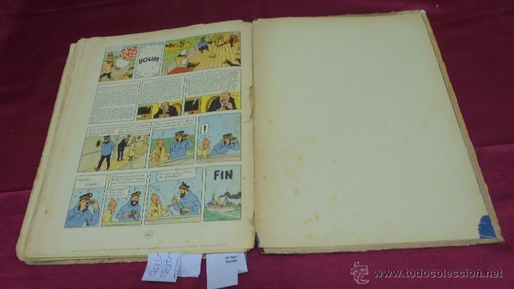Cómics: LES AVENTURES DE TINTIN. L'ETOILE MYSTÉRIEUSE. ÉDITION CASTERMAN. 1955. EN FRANCÉS. - Foto 15 - 51447351