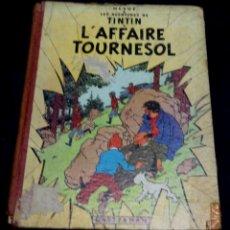 Cómics: L'AFFAIRE TOURNESOL LES AVENTURES DE TINTIN HERGÉ CASTERMAN AÑO 1956 1ª EDICIÓN. Lote 51598206