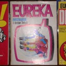 Cómics: 3 COMICS EUREKA. EN ITALIANO. 1 DETECTIVES, 2 MOSTRUOSO, 3 ATTACK . Lote 51805229