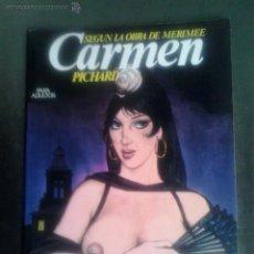 Cómics: CARMEN DE PICHARD - COLECCION FETICHE. Lote 51939703