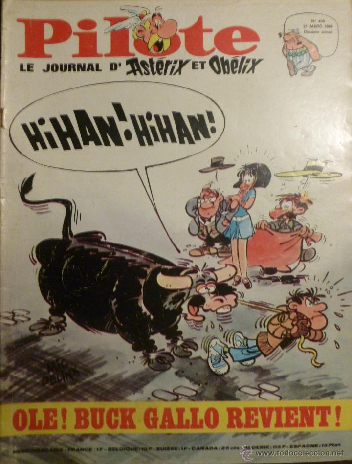 PILOTE Nº 439. 21-03-1968. (Tebeos y Comics - Comics Lengua Extranjera - Comics Europeos)