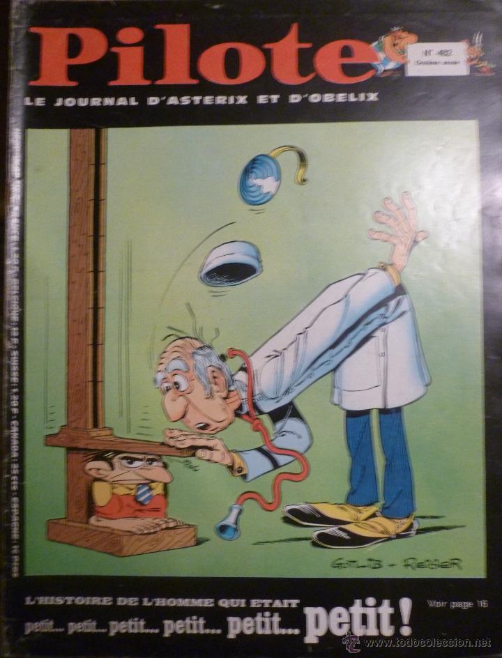 PILOTE Nº 482. 30-01-1969. (Tebeos y Comics - Comics Lengua Extranjera - Comics Europeos)