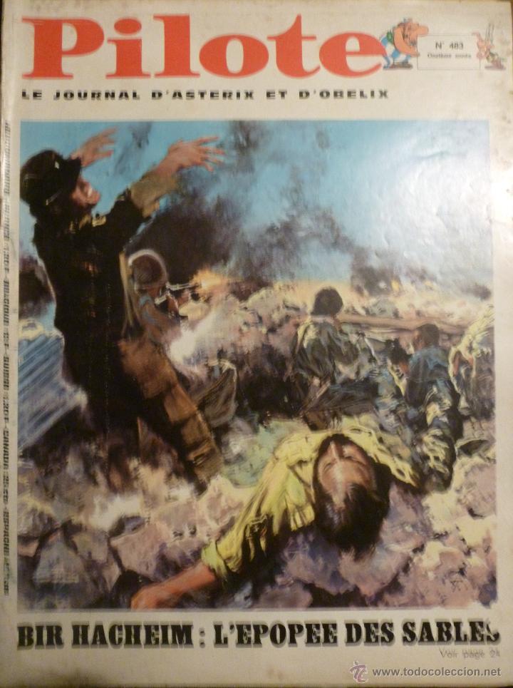 PILOTE Nº 483. 06-02-1969. (Tebeos y Comics - Comics Lengua Extranjera - Comics Europeos)
