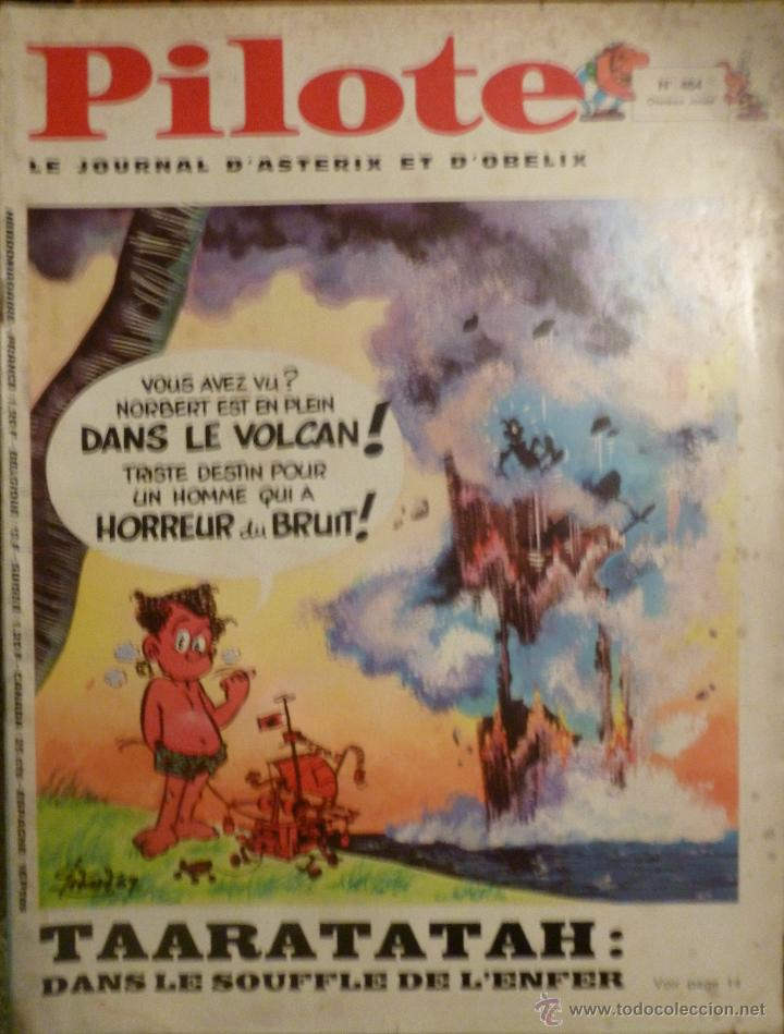 PILOTE Nº 484. 13-02-1969. (Tebeos y Comics - Comics Lengua Extranjera - Comics Europeos)