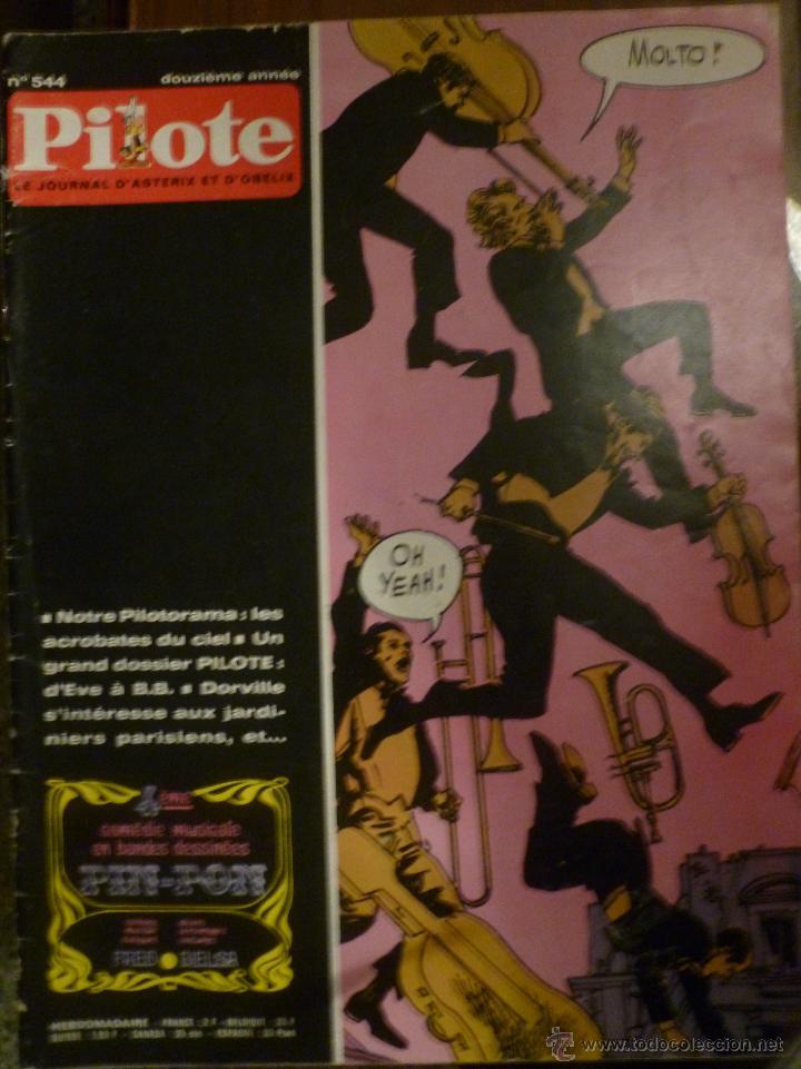 PILOTE Nº 544. 09-04-1970. (Tebeos y Comics - Comics Lengua Extranjera - Comics Europeos)