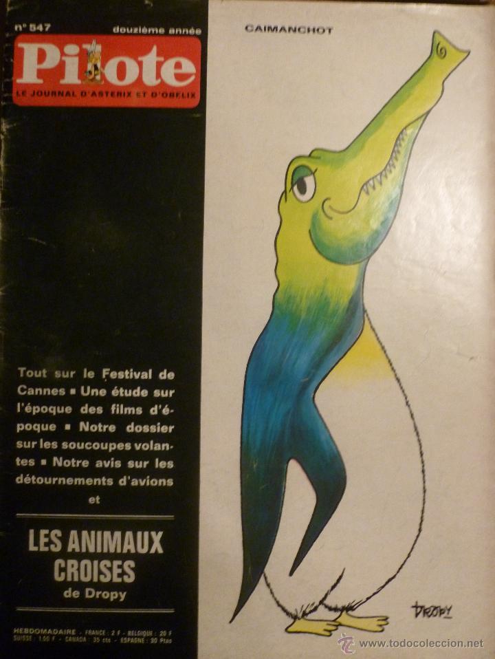 PILOTE Nº 547. 30-04-1970. (Tebeos y Comics - Comics Lengua Extranjera - Comics Europeos)