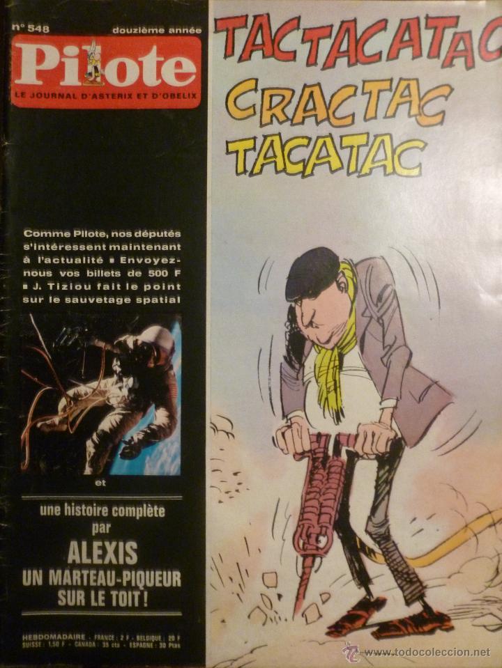 PILOTE Nº 548. 07-05-1970. (Tebeos y Comics - Comics Lengua Extranjera - Comics Europeos)