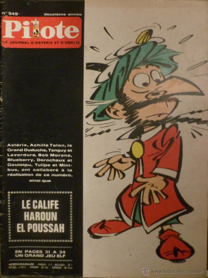 PILOTE Nº 549. 14-05-1970. (Tebeos y Comics - Comics Lengua Extranjera - Comics Europeos)