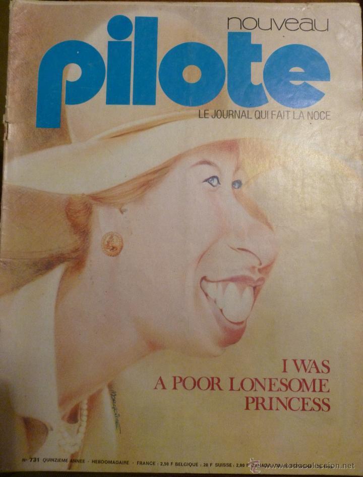 PILOTE Nº 731. 08-11-1973. (Tebeos y Comics - Comics Lengua Extranjera - Comics Europeos)