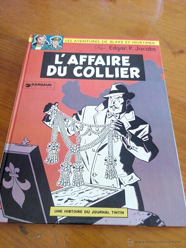 Cómics: l affaire du collier blake et mortimer. dargaud 1967.original. - Foto 1 - 52396178