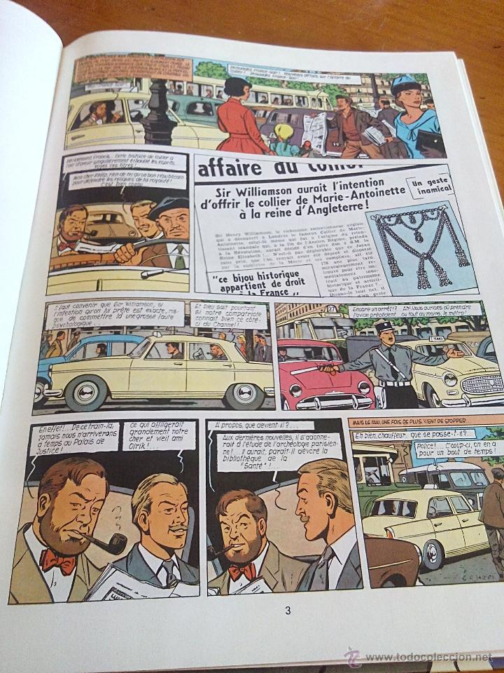 Cómics: l affaire du collier blake et mortimer. dargaud 1967.original. - Foto 5 - 52396178