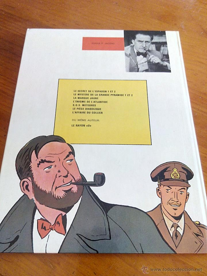 Cómics: l affaire du collier blake et mortimer. dargaud 1967.original. - Foto 9 - 52396178