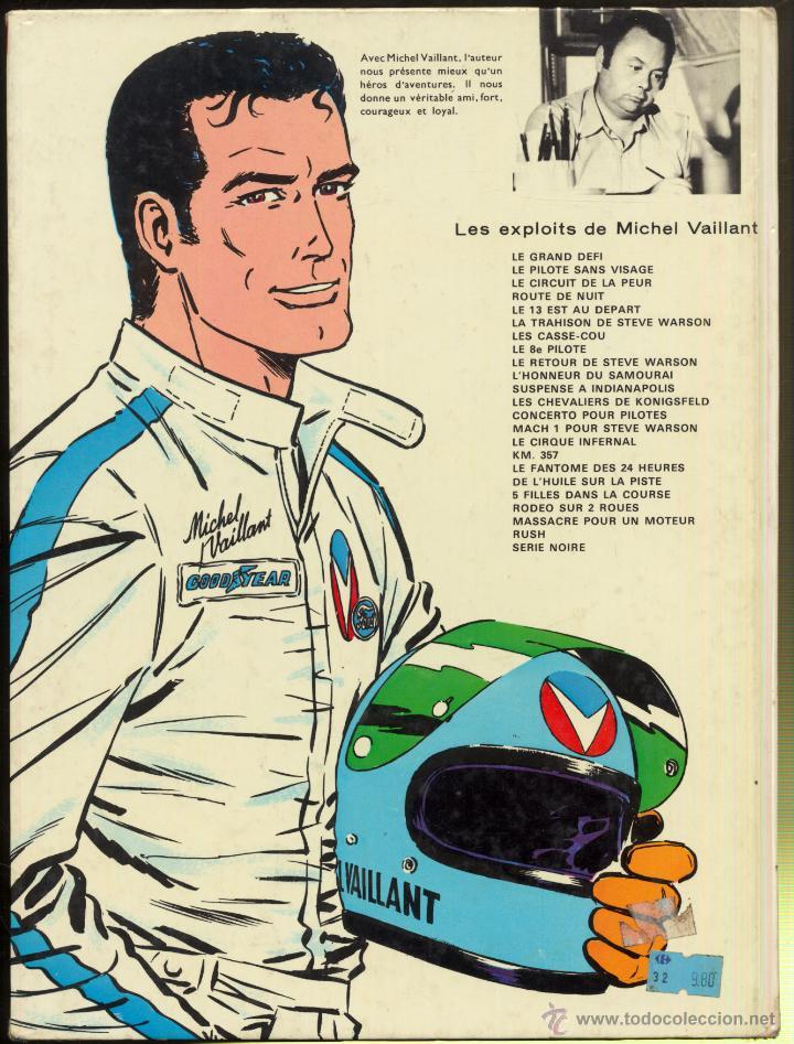 Cómics: MICHEL VAILLANT - L'HONNEUR DU SAMOURAI- 1966 - Foto 2 - 52410799