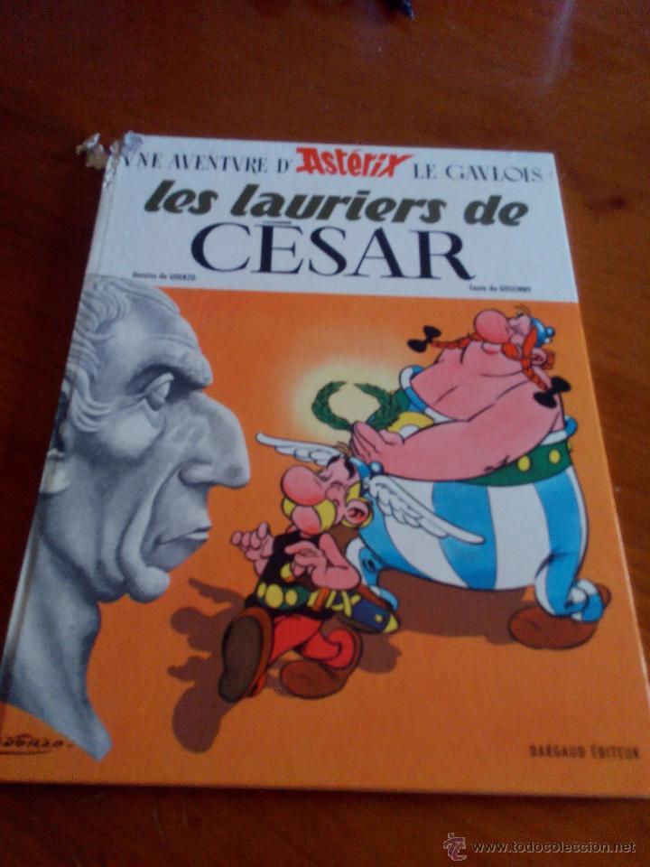 UNE AVENTURA D´ ASTERIX. LES LAURIERS DE CÉSAR. DARGAUD 1972 (Tebeos y Comics - Comics Lengua Extranjera - Comics Europeos)