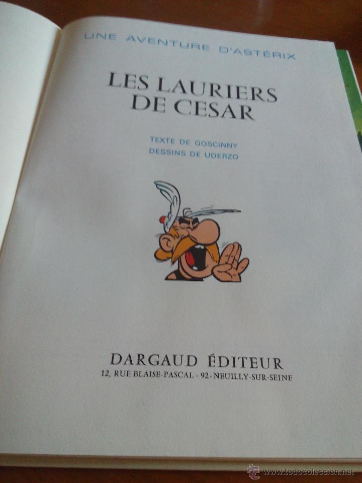 Cómics: UNE AVENTURA D´ ASTERIX. les lauriers de césar. DARGAUD 1972 - Foto 5 - 52424306