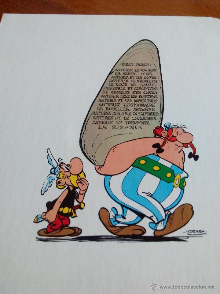 Cómics: UNE AVENTURA D´ ASTERIX. La zizanie. DARGAUD 1970 - Foto 8 - 52424704