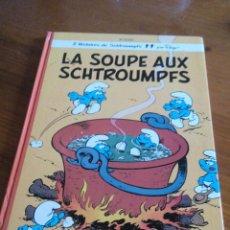Cómics: LOS PITUFOS, PEYO LES SCHTROUMPFS 10E SÉRIE LS SOUPE AUX SCHTROUMPFS DUPUIS 1976. Lote 52424930