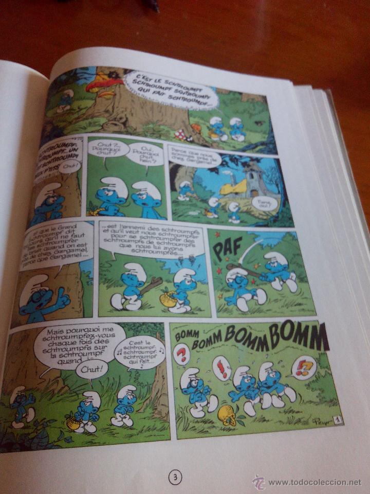 Cómics: LOS PITUFOS, PEYO LES SCHTROUMPFS 10E SÉRIE Ls soupe aux SCHTROUMPFS DUPUIS 1976 - Foto 6 - 52424930