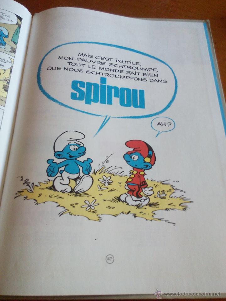 Cómics: LOS PITUFOS, PEYO LES SCHTROUMPFS 10E SÉRIE Ls soupe aux SCHTROUMPFS DUPUIS 1976 - Foto 9 - 52424930