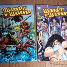 Cómics: LOTE DE DOS COMICS WONDER WOMAN (Nº1 Y 2) 72 PÁG, - TEXTO EN ITALIANO. Lote 52622823