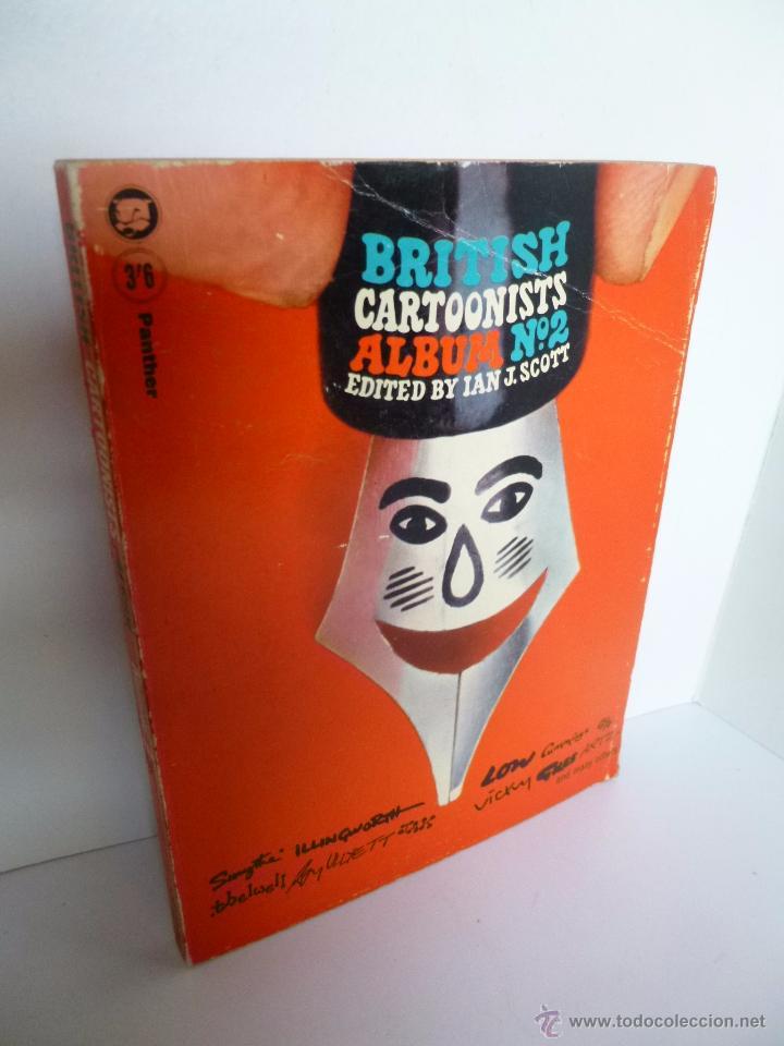BRITISH CARTOONISTS ALBUM Nº 2. EDITED BY IAN SCOTT PANTHER BOOK, 1965 (Tebeos y Comics - Comics Lengua Extranjera - Comics Europeos)