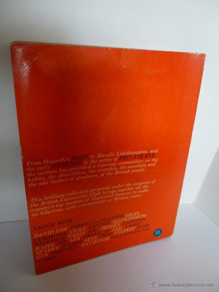 Cómics: BRITISH CARTOONISTS ALBUM Nº 2. EDITED BY IAN SCOTT PANTHER BOOK, 1965 - Foto 2 - 53169780
