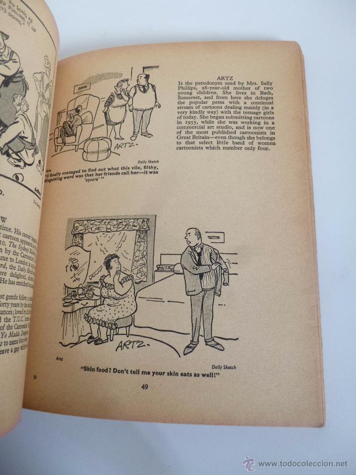 Cómics: BRITISH CARTOONISTS ALBUM Nº 2. EDITED BY IAN SCOTT PANTHER BOOK, 1965 - Foto 4 - 53169780