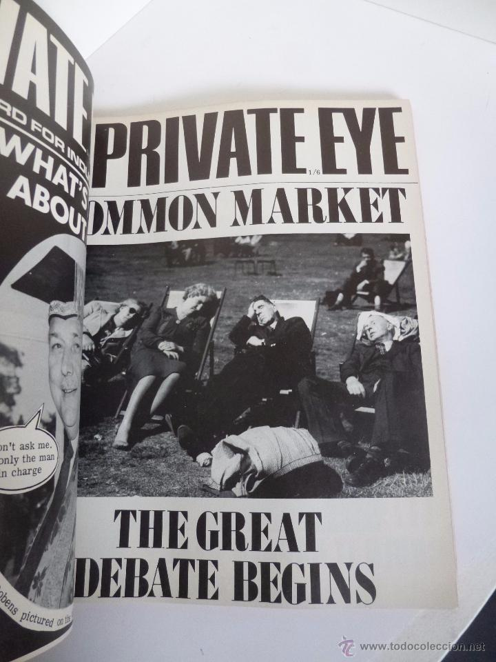 Cómics: THE LIFE AND TIMES OF PRIVATE EYE 1961-1971. EDITED BY RICHARD INGRAMS. PENGUIN PRESS, 1971 - Foto 3 - 53170197