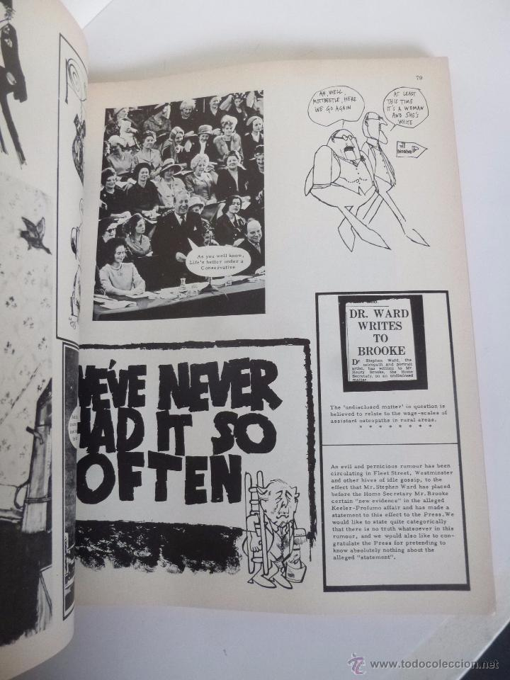 Cómics: THE LIFE AND TIMES OF PRIVATE EYE 1961-1971. EDITED BY RICHARD INGRAMS. PENGUIN PRESS, 1971 - Foto 5 - 53170197