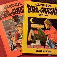Cómics: REBAJADO GOTLIB, RHAA GNAGNA, COMPLETA 1 Y 2 - COMIC FRANCES. Lote 53285002