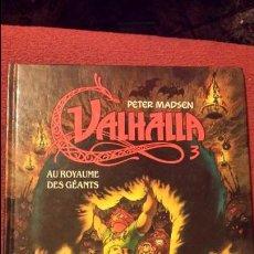 Cómics: REBAJADO VALHALLA 3 - PETER MADSEN - ZENDA EDITIONS - COMIC FRANCES. Lote 53285126