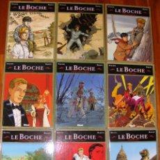 Cómics: LE BOCHE (EN FRANCÉS), DE STALNER, BOUTEL & BARDET, 9 TOMOS (COMPLETO), GLÉNAT. Lote 53685232