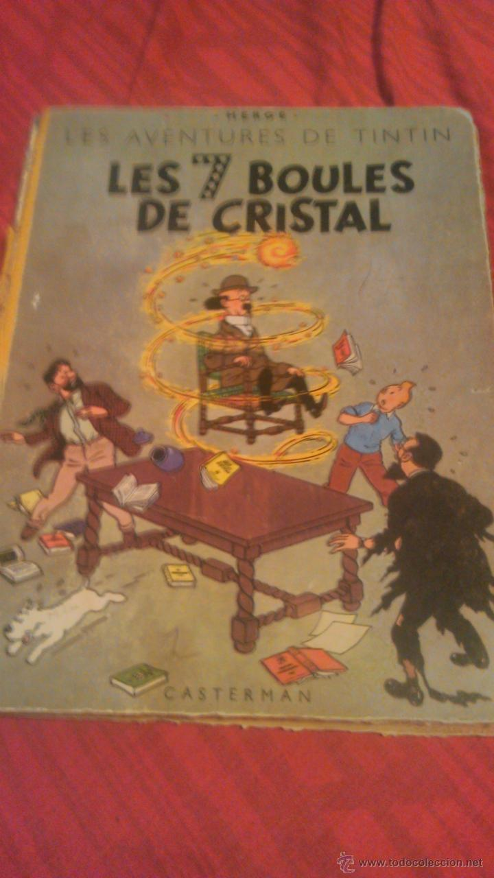 TINTIN LES 7 BOULES DE CRISTAL 1951 EDITION ORIGINAL.ALBUMS HERGE (Tebeos y Comics - Comics Lengua Extranjera - Comics Europeos)