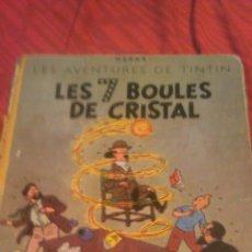 Cómics: TINTIN LES 7 BOULES DE CRISTAL 1951 EDITION ORIGINAL.ALBUMS HERGE. Lote 53689483