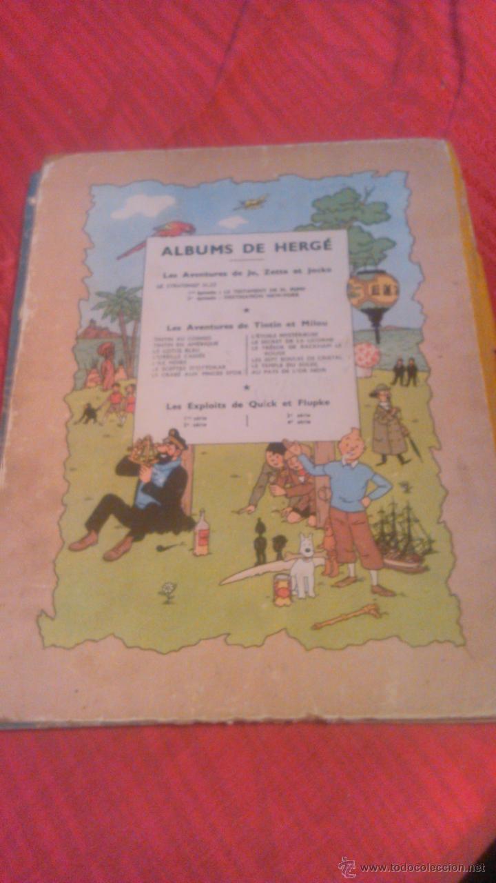 Cómics: tintin les 7 boules de cristal 1951 edition original.albums herge - Foto 7 - 53689483