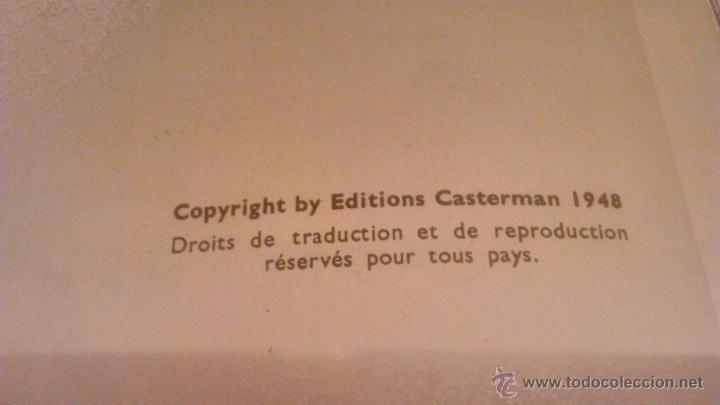 Cómics: tintin les 7 boules de cristal 1951 edition original.albums herge - Foto 9 - 53689483