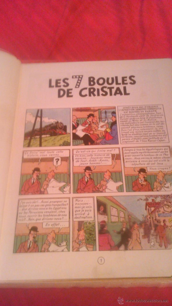Cómics: tintin les 7 boules de cristal 1951 edition original.albums herge - Foto 10 - 53689483