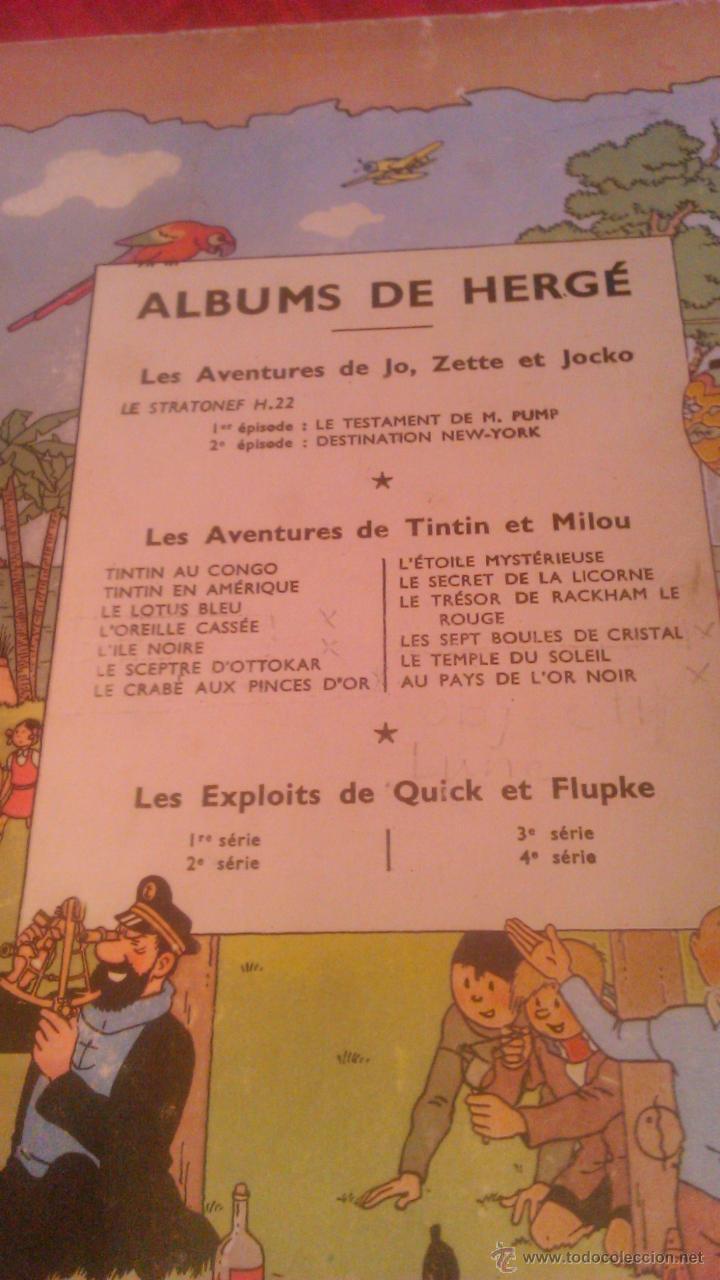 Cómics: tintin les 7 boules de cristal 1951 edition original.albums herge - Foto 16 - 53689483