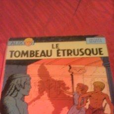 Cómics: JACQUES MARTIN : EDITION ORIGINAL ALIX LE TOMBEAU ETRUSQUE 1968. Lote 53689791