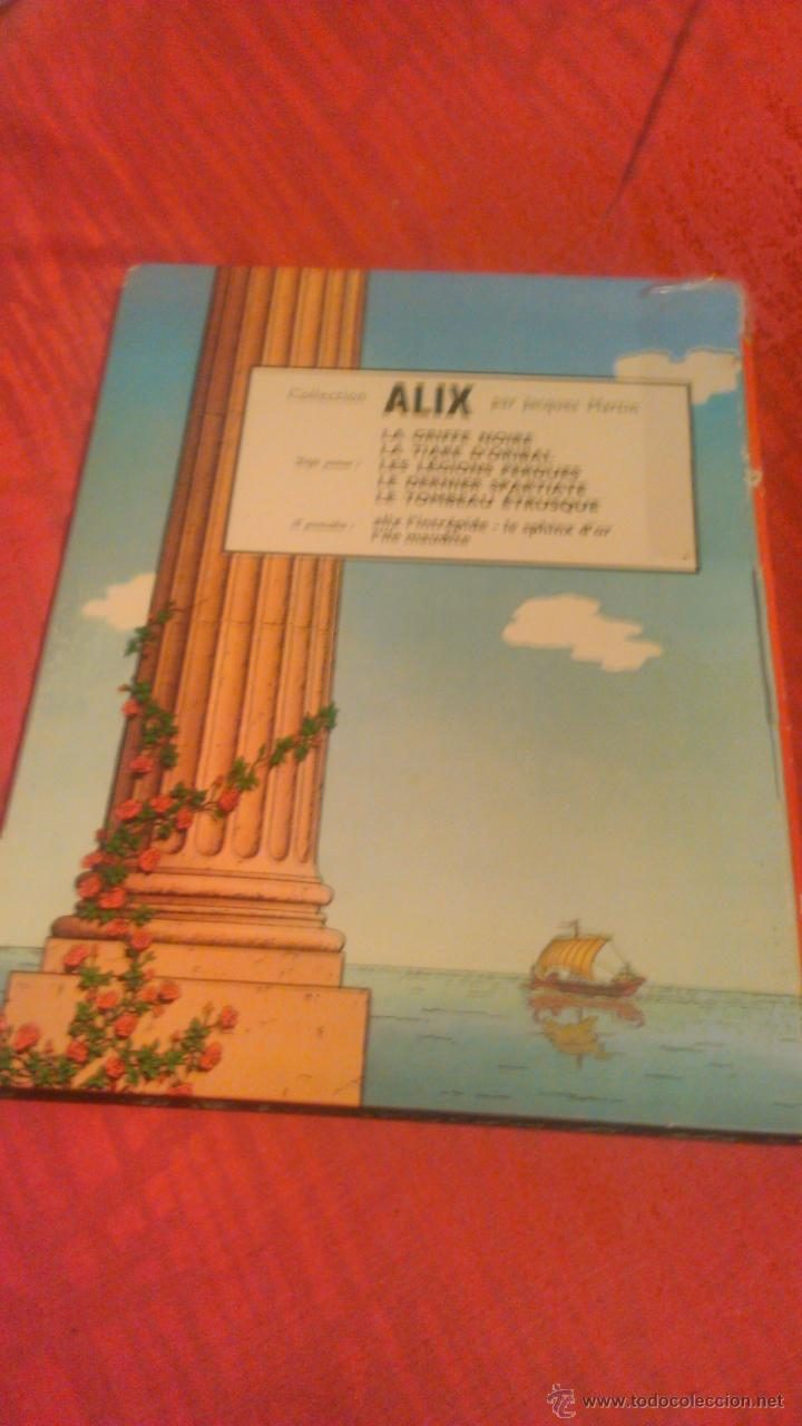 Cómics: jacques martin : edition original alix le tombeau etrusque 1968 - Foto 10 - 53689791