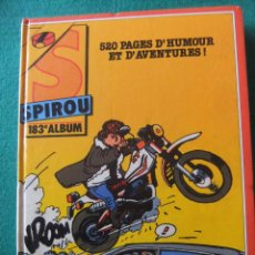 Cómics: SPIROU TOMO 183 DUPUIS AÑO 1987 TAPA DURA. Lote 54154736
