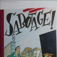 Cómics: DANIEL TORRES. SABOTAGE. (SABOTAJE). EDICIÓN BELGA. 1A EDICIÓN 1983. ED. MAGIC-STRIP. Lote 54518037