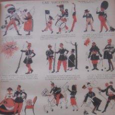 Cómics: COMIC FRANCÉS 1886, IMAGERIE QUANTIN, 48 LÁMINAS. Lote 54825323
