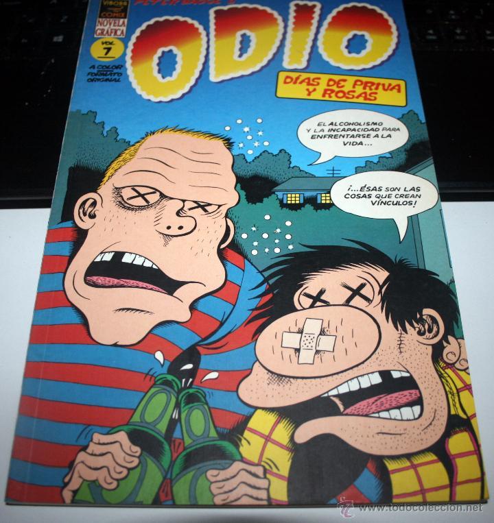 PETER BAGGE - ODIO - VOL. 7 [VÍBORA COMIX · PRIMERA EDICIÓN (Tebeos y Comics - Comics Lengua Extranjera - Comics Europeos)