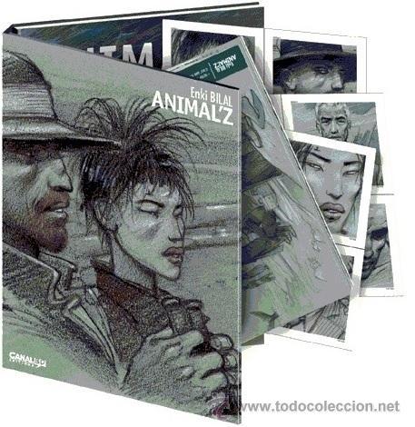 ENKI BILAL - ANIMAL Z ALBUM (CASTERMAN,2009) + COFFRET CANAL BD EDITIONS (Tebeos y Comics - Comics Lengua Extranjera - Comics Europeos)