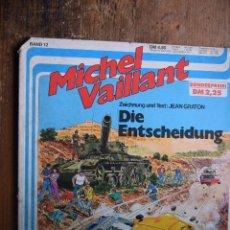 Cómics: MICHEL VAILLANT Nº 12, KORALLE, 1981 (EN ALEMAN). Lote 55347060